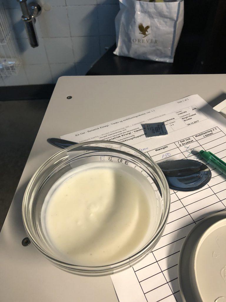 Min morgenmad - 100 ml yoghurt
