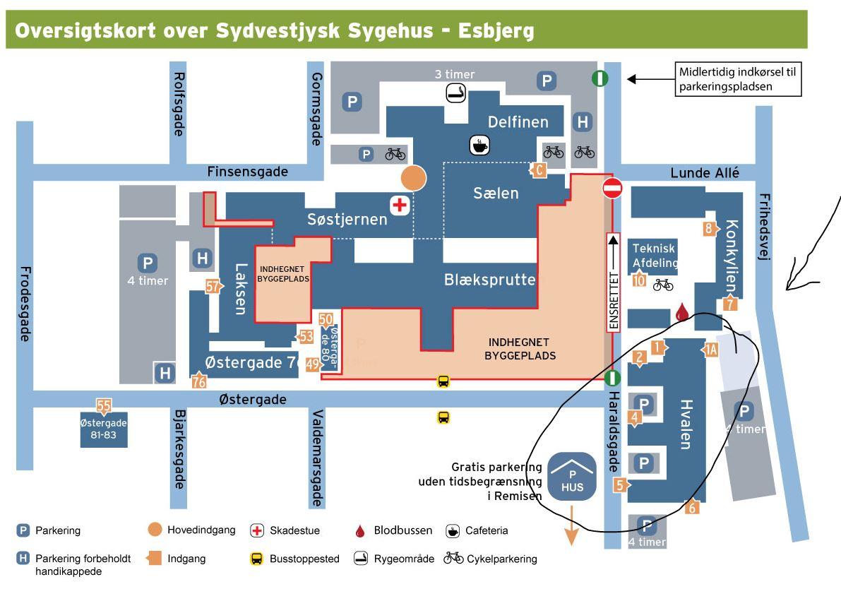 Hvalen Sydvestjysk Sygehus